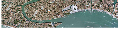 Bird's Eye View of Venezia