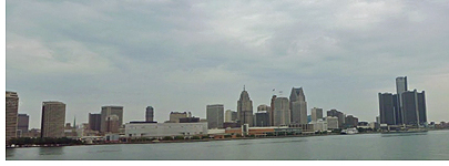 View of Detroit