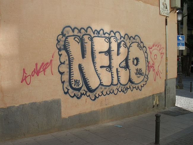 Neko graffiti picture 8