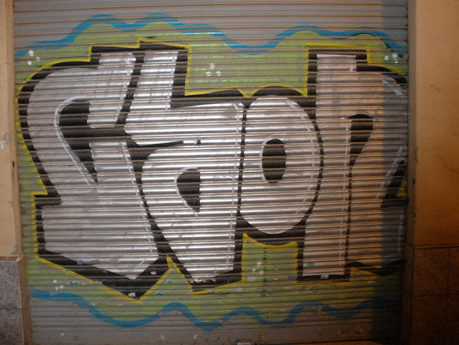 Caon graffiti photo