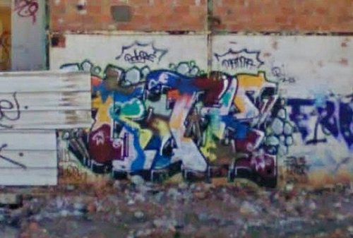 Frontignan unidentified graffiti picture 2