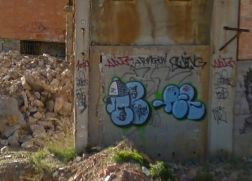 Frontignan unidentified graffiti picture 3