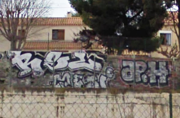 Apashe graffiti photo