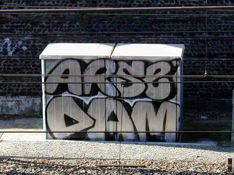 Arse graff pic Toulouse