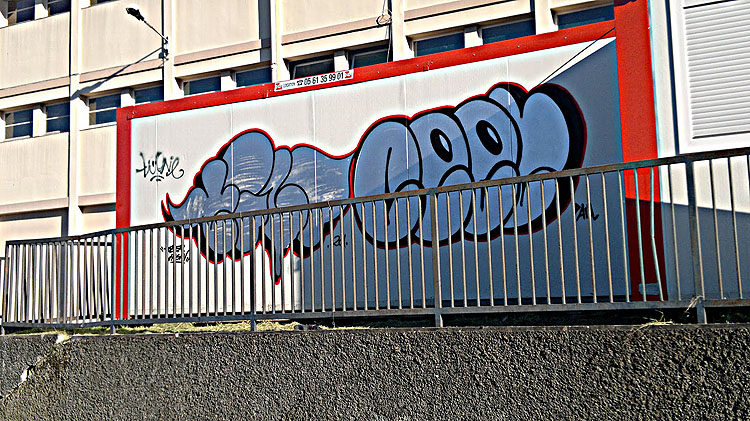 Ceet graffiti Toulouse