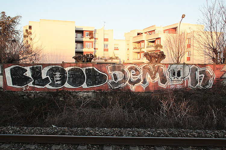 Demon graffiti photo