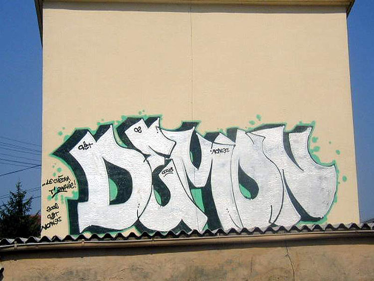 Demon graff photo