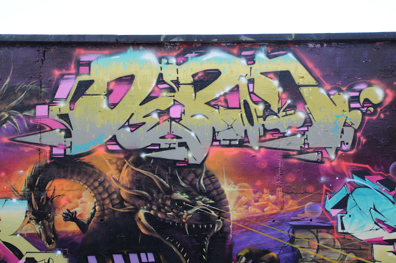Depon graffiti Toulouse