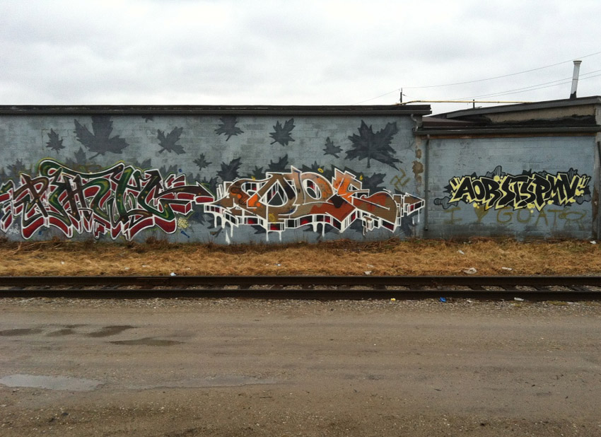 Dloe graffiti photo Brantford ON