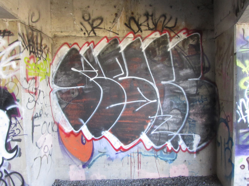 Abuse graff pic Gatineau