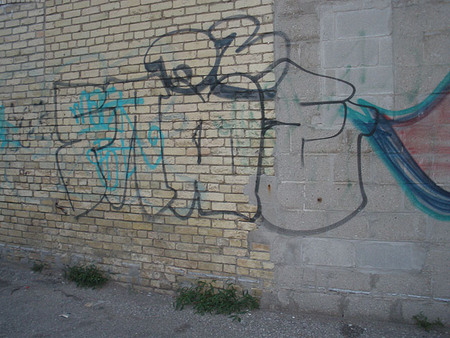 Oz graffiti photo
