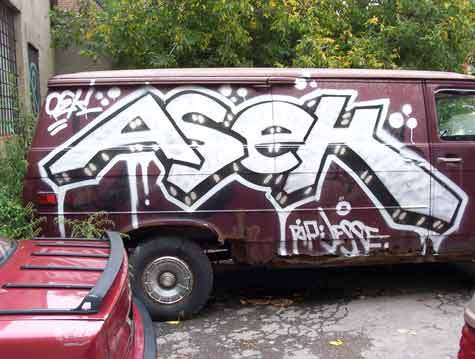 Asek graffiti picture