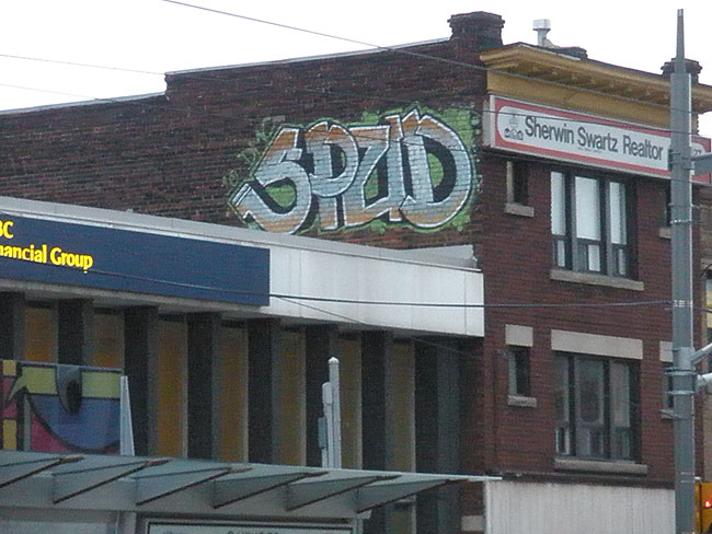 Spud graffiti photo
